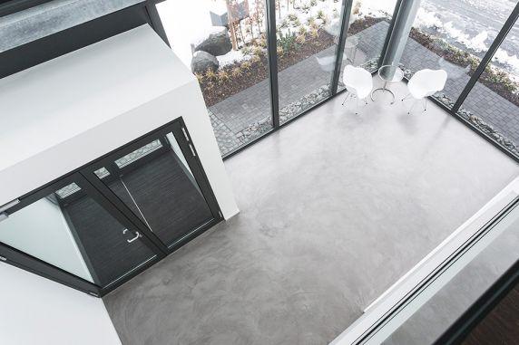 Fußboden Im Betonlook ~ Betonoptik siegen: der trend für böden und wände malermeister
